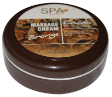 massage cream bronze cacao