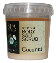 salt scrub coconut